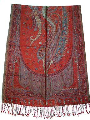 Jamawar shawls is coming in this fashion industry from centuries but it is still in demand as like some thing new you have. We have huge range of silk jamawar shawls with attractive paisely designs whcih give you antique look in your group.