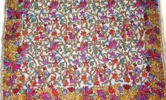 Wholesaler and Exporters of Pashmina Stoles, Designer Stoles, Shawls & Wraps, Stoles and Shawls, Antique Shawls, Screen Print Wool Shawls,