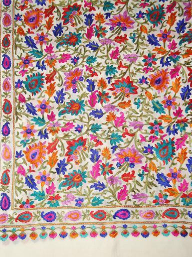 Wholesaler and Exporters of Pashmina Stoles, Designer Stoles, Shawls & Wraps, Stoles and Shawls, Shawls, Kashmiri Wool Shawls, Pashmina,