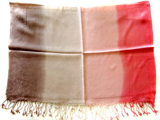 Ombre Dye Silk Blended Shawls