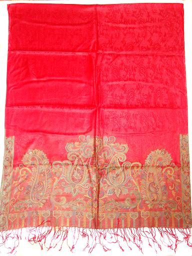 Manufacturer of Silk Viscose Shawls, Antique Shawls, Embroidered Shawls, Silk Wool, silk blended jacquard shawls, silk wool reversible shawl