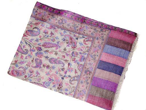 Manufacturer of Pashmina Wool Shawls, Silk Viscose Shawls, Evening Silk Pashmina Shawls, Plain Silk Pashmina Shawls, Pashmina Stoles, Silk,