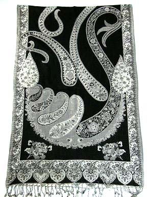 Ganpati Fashions & Girisha Textiles manufacturer and exporters of Viscose Jacquard Scarves, Viscose Woven Scarves, Viscose Lycra Scarves,