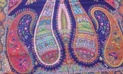 Manufacturer of silk modal self palla shawls, silk modal printed shawls, silk wool printed shawls, silk wool shawls, silk wool plain shawls,