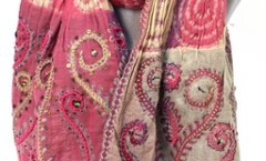 Wholesaler and Exporters of Wool Jamawar Embroidery carves,Scarves, Wool Fashion Scarves, Indian Wool Scarves,Wool Scarves, Designer Scarves