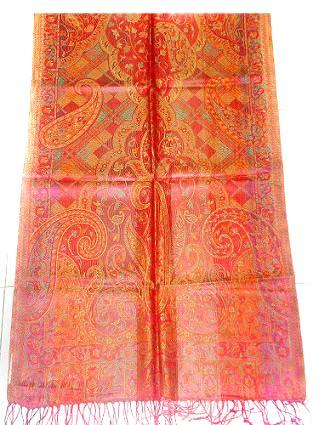 Manufacturer of Fancy Silk Scarves, Ethnic Silk Scarves, Designer Silk Shawls, Silk Printed Shawls, Digital Print Silk Scarves, Silk Scarf,