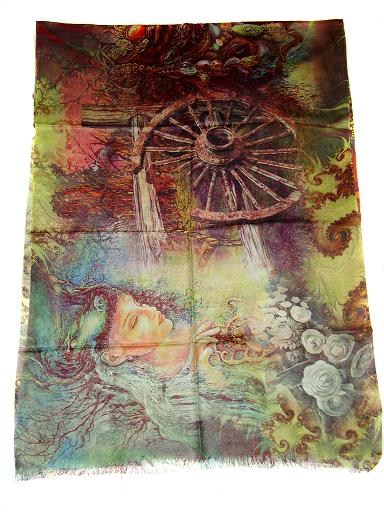 Wholesaler and Supplier of Designer Pashmina Silk Scarves, High Quality Silk Pashmina Scarves, Silk Pashmina Jacquard Scarves, Wool Silk Scarf