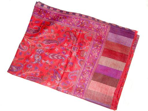 Wholesaler and Supplier of Kashmiri Silk Pashmina Scarves, Silk Pashmina Hand Embroidered Scarves, Silk Pashmina Embroidery Scarves, Silk,