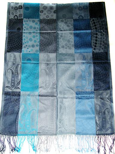 Manufacturer of party wear silk scarf, Indian scarves, kashmiri silk scarves, scarfs from kashmir, embroidery silk scarves, silk jackets,
