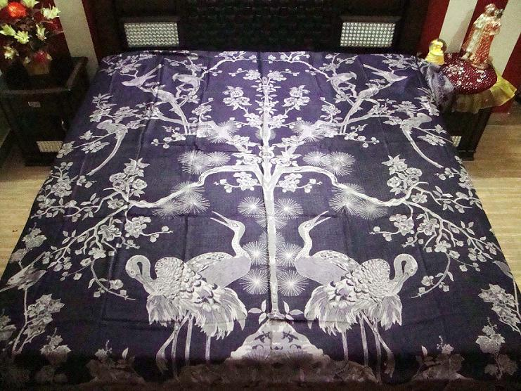 Ganpati Fashions & Girisha Textiles manufacturer and exporters of Antique Bedspreads, Exporters of Bed Spreads, Bed sheets, Throws, Bedspread
