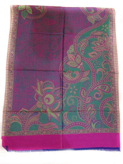 Wholesaler and Exporters of Ethnic Silk Blend Shawls, Modal Scarves, Scarves, Silk Shawls and Wraps, Silk Wraps, Silk Wool Wraps, Reversible